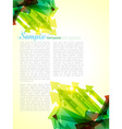 sample page vector image