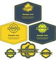 design frames vector image