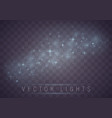 light effect set vector image vector image