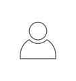 People icon outline