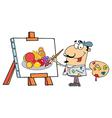 Artist Painter vector image vector image