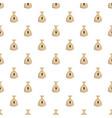 bag money pattern seamless vector image vector image