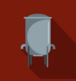 barrelbicon flat style vector image vector image