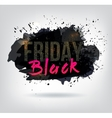 Black Friday Sale Abstract vector image