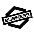 business rubber stamp vector image vector image