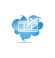 film dream cloud vector image