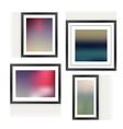 Frames vector image