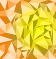 Orange geometric texture vector image