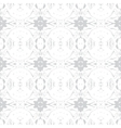 Simple elegant pattern with grey silver shapes vector image vector image