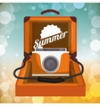 Sumer time design vector image