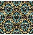 Vintage ethnic damask seamless pattern background vector image vector image