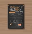 beer menu set design for restaurant cafe pub vector image vector image