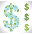 dollar Flower texture vector image vector image
