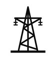 energy electric tower icon simple style vector image