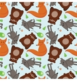 forest animals 1 vector image vector image