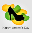 Graphic for womens day vector image vector image