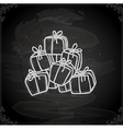 Hand Drawn Present Stack vector image vector image