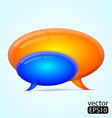 Speech bubble vector image