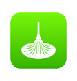 sweeping icon simple style vector image vector image