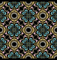 baroque seamless pattern greek style ornamental vector image vector image