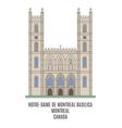 Basilica Montreal vector image vector image
