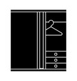dressing room icon sign o vector image vector image