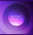 purple abstract of many squares with circles vector image