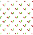 Pushpin pattern cartoon style vector image vector image