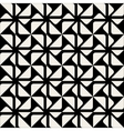 Seamless Triangle Square Geometric Pattern vector image