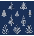 Ugly sweater Pattern 1 vector image vector image