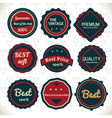 Vintage emblems vector | Price: 1 Credit (USD $1)