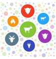 ram icons vector image vector image