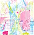 tour city vector image