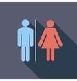 WC single icon vector image vector image