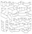 Ribbons3 resize vector image