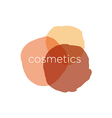 Abstract logo for cosmetics and beauty vector image vector image