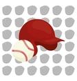 baseball sport hat vector image vector image