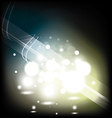 bright flashes of light vector image vector image