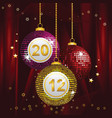 festive new year vector image vector image
