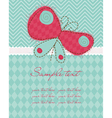 Greeting baby card vector | Price: 1 Credit (USD $1)