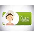 spa relaxation area vector image vector image