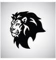wild lion head logo esport mascot design vector image vector image