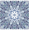 Seamless watercolor doodle decorative pattern vector image