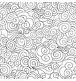 abstract swirl line seamless pattern wave vector image