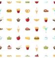Food pattern seamless background