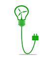 Go green concept Save world vector image vector image