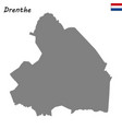 high quality map province of netherlands vector image vector image