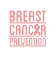 International Day of Breast Cancer Awareness vector image vector image
