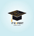 it expert logo sign symbol icon vector image