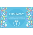 Modern Flat design Medicine pharmacy healthcare vector image vector image